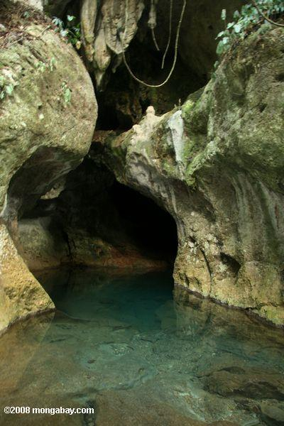Entrance to ATM cave