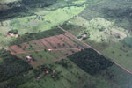 Agricultural clearing and forest reserves in the southern Amazon [brazil_0200]