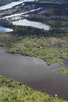 Aerial view of the Rio das Mortes at high level