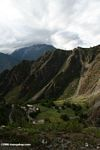 High elevation valley in NW Yunnan