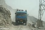 Truck barrelling down on us in China