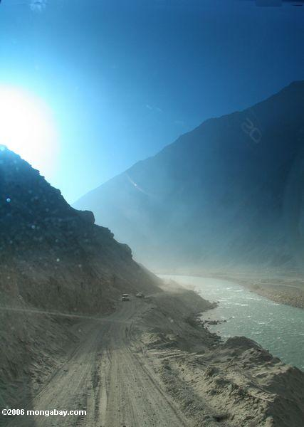 Route à Datong