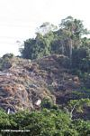 Deforestation outside Parque Tayrona in Colombia
