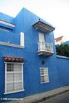Blue house in old town, Cartagena