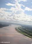 Aerial view of the Amazon river [co02-0057]