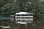 White houseboat in Amazon