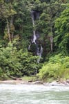 Waterfall at the entrance of Gunung Leuser