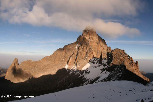 Photo: Mt. Kenya sunrise
