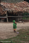 Hmong child in dragon jacket