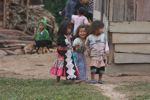 Hmong children in Laos