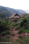 Hut along the Nam Tha River