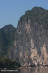 Karst cliff along the Nam Ou river