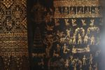 Mural depicting the Buddhist version of hell
