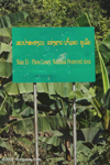 Nam Et-Phou Louey National Protected Area sign