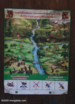 Conservation poster in Laos