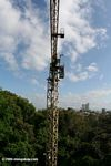 STRI employs a construction crane to conduct tropical forest research in Panama