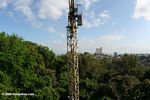The Smithsonian Tropical Research Institute employs a construction crane to study the rainforest canopy