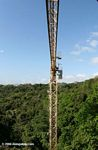 Panama's rainforest canopy research crane