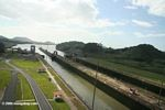 Miraflores lock of the Panama canal