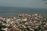 Aerial view of Old Panama City (Casco Viejo or San Felipe)