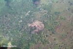 Deforestation in Panama; as seen from above