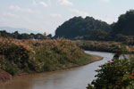 Tributary of the Mekong in Chiang Saen