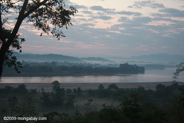 Mekong river at Chiang Saen in Thailand. Photo by: Rhett A. Butler.